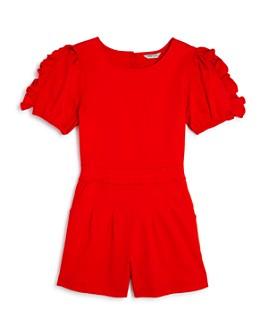 Habitual Kids - Girls' Maeve Ruffle-Sleeve Romper - Big Kid
