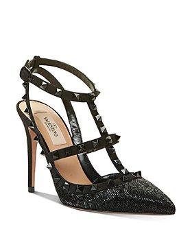 Valentino Garavani - Women's Rockstud Ankle Strap High-Heel Sandals