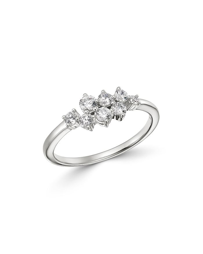 Bloomingdale's - Diamond Scatter Cluster Ring in 14K White Gold, 0.50 ct. t.w. - 100% Exclusive