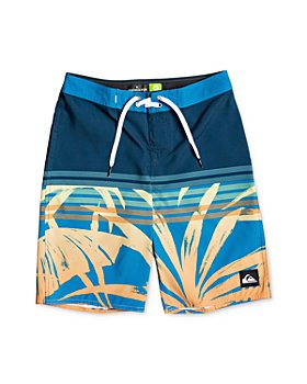 Quiksilver - Boys' Everyday Tropics Printed Swim Trunks - Big Kid
