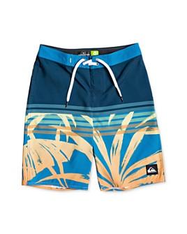 Quiksilver - Boys' Everyday Tropics Printed Swim Trunks - Big Kid