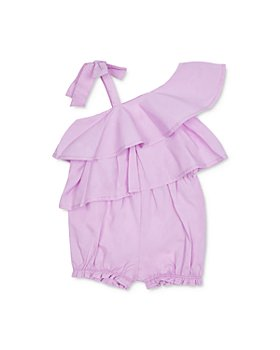 Habitual Kids - Girls' Tessa Cotton Ruffled Romper - Little Kid
