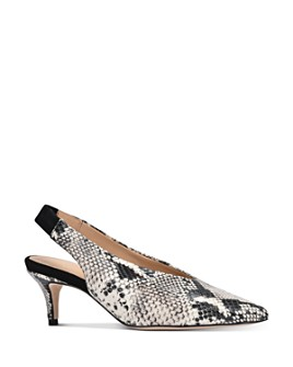 Joan Oloff - Women's Ciara Slingback Pumps