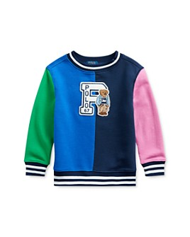 Ralph Lauren - Boys' Cotton Colorblocked Sweatshirt - Little Kid
