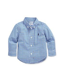 Ralph Lauren - Boys' Cotton Plaid Shirt - Baby