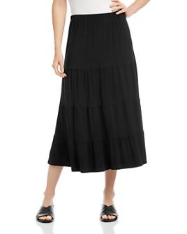 Karen Kane - Tiered Midi Skirt