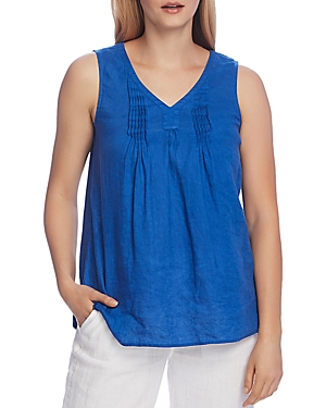 Vince Camuto Linen Pleated Top