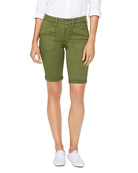 NYDJ - Cuffed Utility Shorts