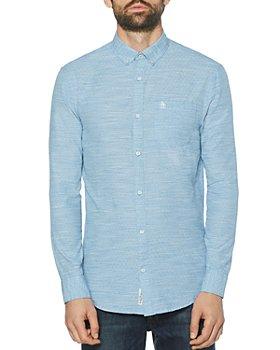 Original Penguin - Cotton Slub Dot Button-Down Shirt