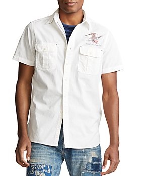 Polo Ralph Lauren - Vintage Americana Classic Fit Chambray Short Sleeve Button-Down Shirt