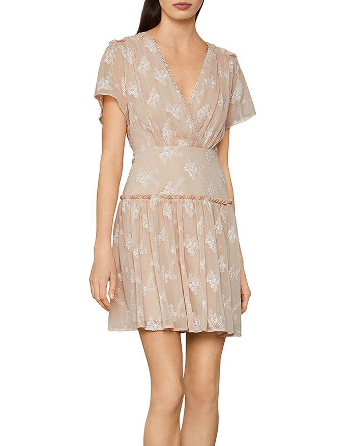 BCBGMAXAZRIA - Daisy Chiffon Mini Dress