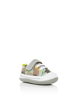 See Kai Run - Unisex Stevie II INF Camo Low-Top Sneakers - Baby, Walker