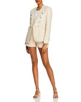 AQUA - Tweed Blazer & Shorts - 100% Exclusive