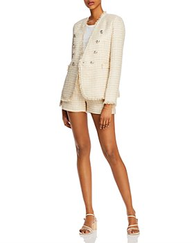 AQUA - Tweed Blazer & Shorts - 100% Exclusive