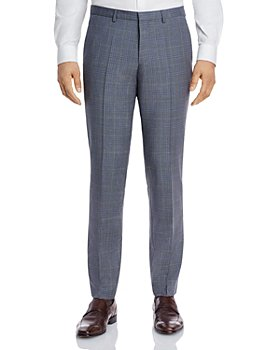 HUGO - Hesten Tonal Plaid Extra Slim Fit Suit Pants