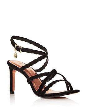 Ted Baker - Women's Scalloped Strap High-Heel Sandals