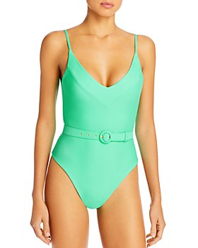 Nicholas - Myra Belted One Piece Swimsuit