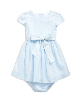 Ralph Lauren - Girls' Plaid Fit-and-Flare Dress & Bloomers - Baby
