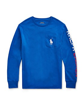 Ralph Lauren - Boys' Cotton Jersey Compass Tee - Little Kid, Big Kid