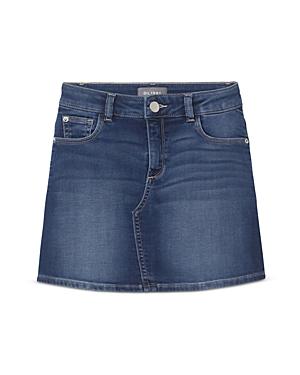 DL1961 Girls\\\' Jenny Cotton-Blend Denim Skirt - Big Kid-Kids