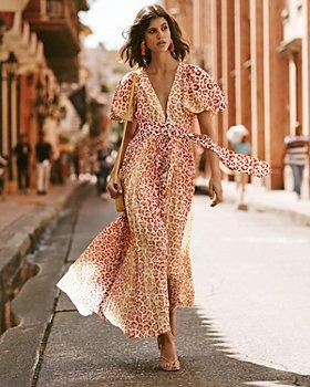 Rococo Sand - Rococo Sand Maxi Dress, AQUA Strappy Sandals - 100% Exclusive & More