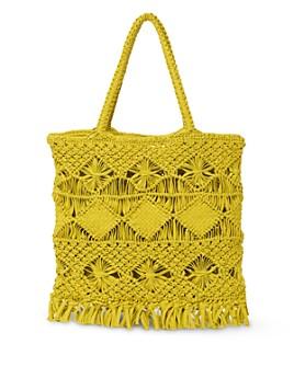 Whistles - Clea Crochet Tote Bag