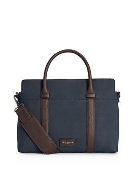 Ted Baker - Faux Nubuck Document Bag