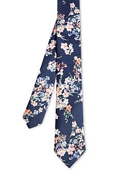 Ted Baker - Clustered Floral Silk Skinny Tie