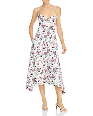 Rebecca Taylor Esmee Cotton Midi Slip Dress-Women