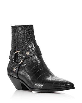 Saint Laurent - Women's West Harness Strap Boots