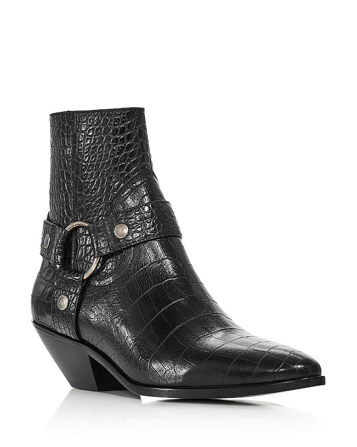 Saint Laurent - Women's West Harness Strap Boots