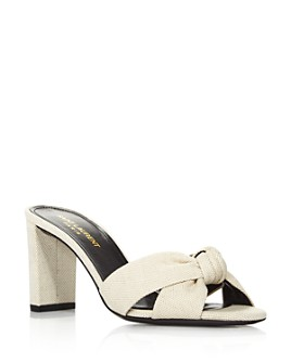 Saint Laurent - Women's Loulou 75 Mule Sandals