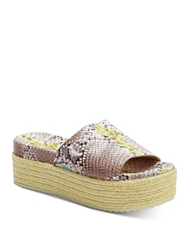 kate spade new york - Women's Zia Espadrille Platform Sandals