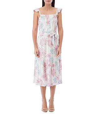 Wanda Ruffled-Strap Maxi Dress