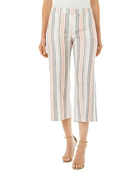 Liverpool Los Angeles - Striped Cropped Pants