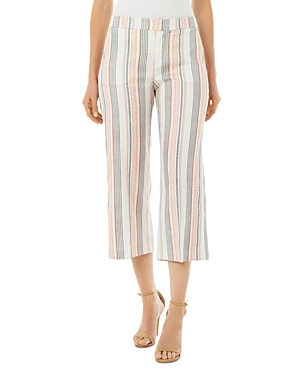 Liverpool Los Angeles Striped Cropped Pants-Women