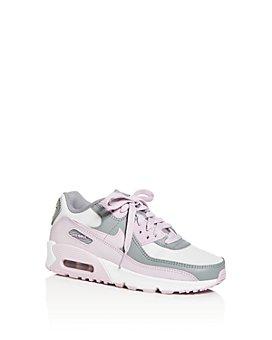 Nike - Unisex Air Max 90 Leather Low-Top Sneakers - Walker, Toddler, Little Kid, Big Kid