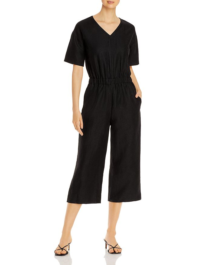 Eileen Fisher - Cropped Jumpsuit