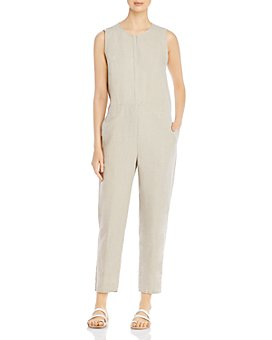 Eileen Fisher - Organic Linen-Blend Jumpsuit