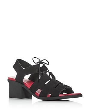 Arche Women's Vayage Cutout Block-Heel Sandals