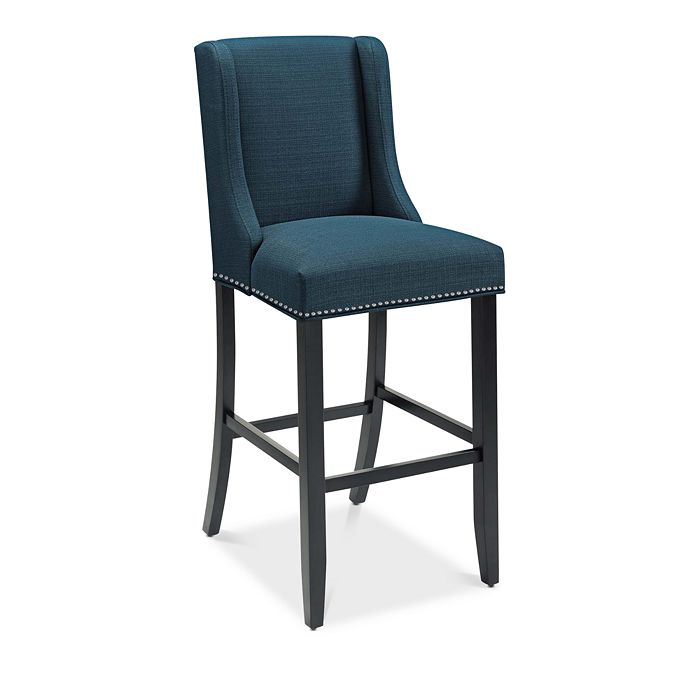 Modway - Baron Upholstered Fabric Bar Stool