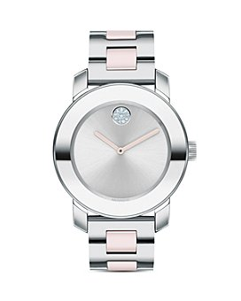 Movado - BOLD Ceramic & Stainless Steel Bracelet Watch, 36mm