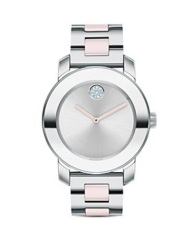 Movado - BOLD Ceramic & Stainless Steel Bracelet Watch, 36mm