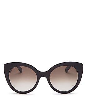 Salvatore Ferragamo - Women's Oversized Round Sunglasses, 54mm