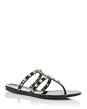 Valentino Garavani - Women's Studded Thong Sandals
