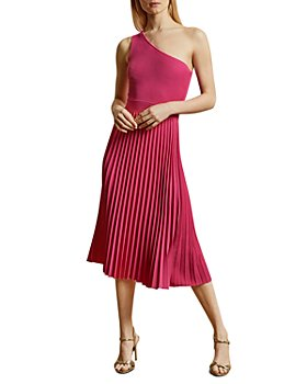 Ted Baker - Miriom One-Shoulder Pleated Midi Dress