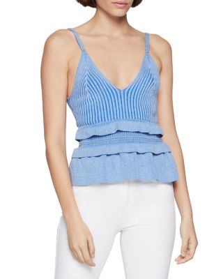 152 NEW RRP £22 Fat Face Textured Rib Lace Cami