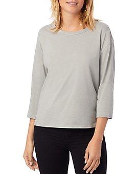 ALTERNATIVE - Three-Quarter-Sleeve Boxy T-Shirt
