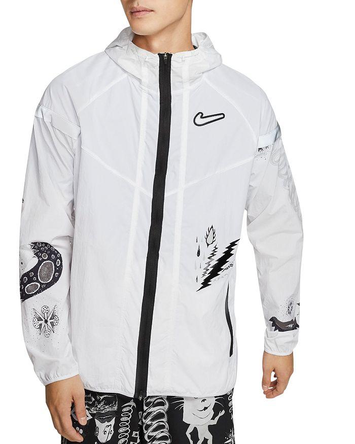 Nike - Wild Run Water-Resistant Graphic Jacket