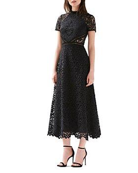 ML Monique Lhuillier - Lace Midi Dress